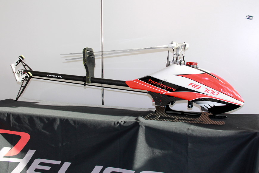 ROTOR live 2017: HD Helicopters RB 700