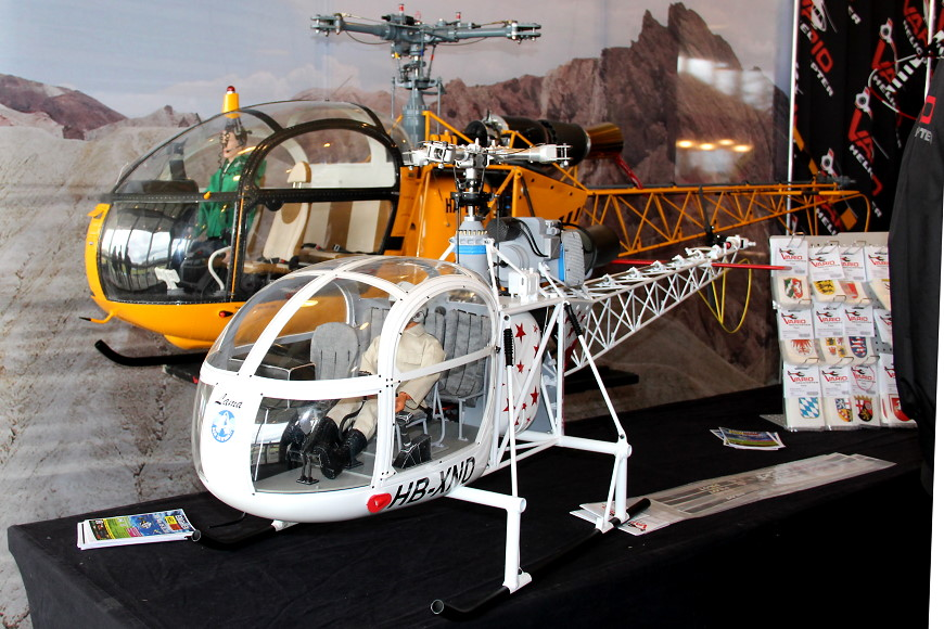ROTOR live 2018 Iffezheim: Vario Helicopter